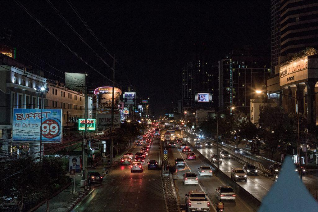 Ratchadaphisek Road in Bangkok